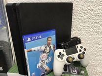 Sony PS4 Slim 2 дж+диск Fifa19