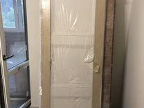 Дверь новая Леруа