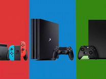 Игровые приставки Xbox 360/One/Ps 2/3/4 в Галерее