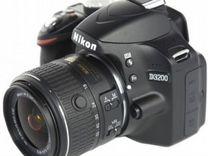 Nikon D3200(18-200 VR II) 16гб.Сумка.Коробка